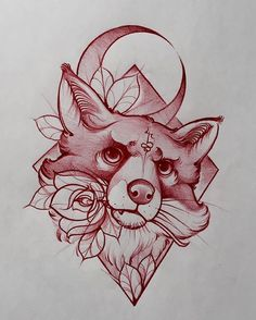 Traditional tattoo design, traditional tattoo animals, traditional tattoo s Trendy Tattoos, New Tattoos, Body Art Tattoos, Cool Tattoos, Traditional Tattoo Animals, Traditional Tattoo Design, Traditional Tattoos, Traditional Tattoo Sketches, Tattoos Fuchs