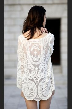 Light lace details