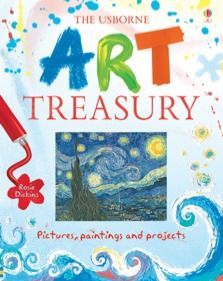 Exciting introduction to famous artists and artworks, with simple, practical projects based on the techniques used by the artists.  Contains 22 famous works by a wide range of artists, including Monet, Van Gogh, Jackson Pollock and Damien Hirst.  Young artists can create Degas pastel dancers, a Rousseau jungle scene and Van Gogh swirly landscapes amongst other projects.