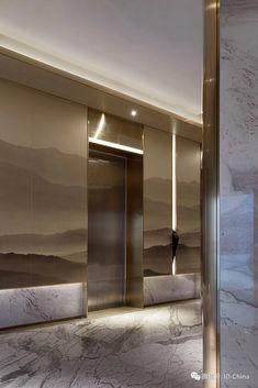 Spa Interior, Interior Design Awards, Lobby Interior, Interior Architecture, Modern Interior Design, Elevator Lobby Design, Hotel Lobby Design, Vestibule, Hotel Corridor