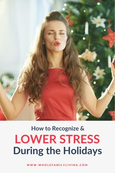 Have past efforts to lower holiday stress during the holidays failed? Learn how to recognize holiday stress and keep stress low this year. How To Lower Stress, Ways To Manage Stress, Stress Less, Emotional Stress, Stress And Anxiety, Stress Management Skills, Holiday Stress, Family Fitness, Regular Exercise