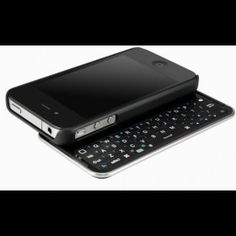 Slide-Out Keyboard Buddy iPhone 4 Case