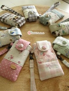 artchala handmade: phone cases, lovely name embroidery too
