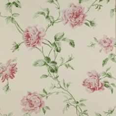wallpaper. country floral resurge.   Colefax and Fowler