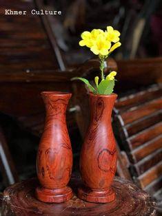 Wood Design, Vase, Cambodia, Home Decor, Decoration Home, Room Decor, Vases, Home Interior Design, Tree Designs