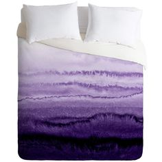 Monika Strigel within the tides lavender fields Duvet Cover ($185) ❤ liked on Polyvore featuring home, bed & bath, bedding, duvet covers, lavender bedding, light purple bedding, lavendar bedding and lilac bedding