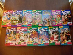 Disney Sing Along Songs VHS 90's