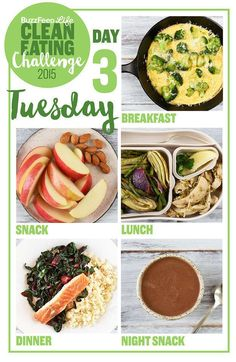 Day 3 Of The 2015 Clean Eating Challenge