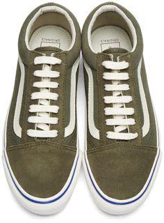 f3653363aa Vans - Green Suede OG Old Skool LX Sneakers Green Sneakers