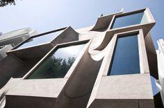 Facade of the Shipara Office Building by SDeG