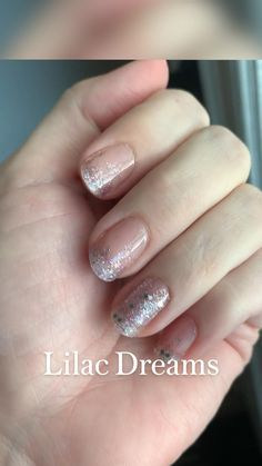 Pastel Nails, Purple Nails, Glitter Nails, Lilac, Nail Designs, Rarity, Beauty, Purple Nail, Pastel Nail
