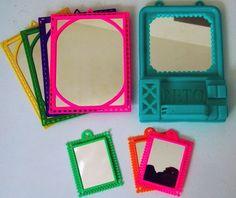 retro-kitsch spiegeltjes