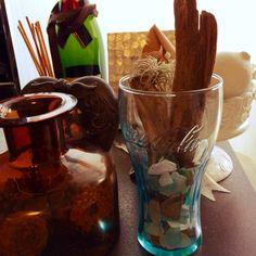 マックのおまけのグラス/小さくなってしまったチランジア/ビーチコーミング/流木…などのインテリア実例 - 2014-09-06 21:06:19 | RoomClip(ルームクリップ)