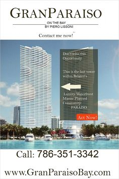 $800000 - Miami, FL Condo For Sale - 601 NE 31 Street -- http://emailflyers.net/42564