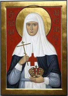 Saint Katherine, New Saints, Byzantine Icons, Orthodox Christianity, Orthodox Icons, Women, Women's