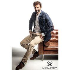 #Sonríe que es #juernes  Ya sabes, puedes encontrar tiendas #Makarthy en: #Málaga, #Granada, #Valencia y #Avilés. Por supuesto, las #prendas de esta #colección2015 están en www.makarthy.com #modaparahombre #ropamasculina  #camisas #zapatos #pantalones #tricot