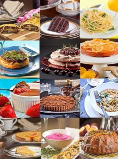 Delicieux Recipe Index for all these mouthwatering food