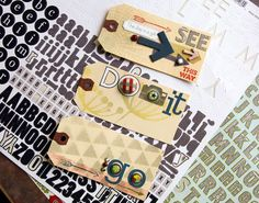 cute tags for layouts on the green frog studio blog