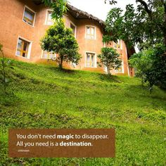 #Banasura_Hill_Resort -  You do not need magic to disappear. All you need is a destination. #Honeymoon_resorts, #kerala_resorts, #nature_resorts