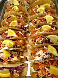 We can always count on ITSMeals at Provo School District for gorgeous, mouth-watering, nutritious #RealSchoolFood ... here's what Fish Tacos should and DO look like!