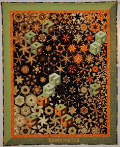 ONE BLOCK WONDER, STACK AND WHACK, KALIEDSCOPE QUILT OR BLOCK..............PC.....................