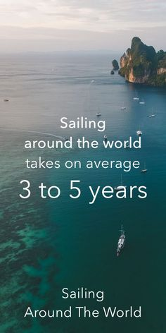 How long does it take to sail around the world? On average, it takes 3 to 5 years. In my article, I show you the most common routes and the trip duration for most people. #sailing #aroundtheworld #trips #route #maps #inspiration #liveaboard Sailing Catamaran, Sailing Trips, Ocean Sailing, Ireland Vacation, Ireland Travel, Galway Ireland, Cork Ireland, Sailing Lessons, Sailing Basics