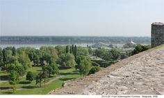 Danube seen from the Fortress of Belgrade ~ Serbia
