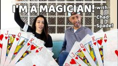 Chad Spade interviewed by Jené Burgers Interview, Jena, The Magicians, Playing Cards, Cards