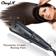 4-in-1 Interchangeable Plates Hair Straightener Crimping Iron Crimper Hair Styling Tool deep wave Straightening Iron beauty