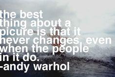 Andy Warhol and I shared the same soul