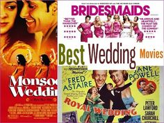 Best Wedding Movies to Watch - YouTube Top Movies To Watch, Good Movies, Wedding Movies, Comedy, Youtube, Movie Posters, Film Poster, Comedy Theater, Youtubers