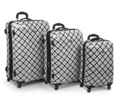 Heys Luggage Exotic Spinners in Plaid, $429.97