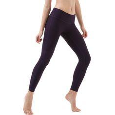 Tesla FYP41 Women's Mid-Waist Ultra-Stretch Yoga Pants#apos#Mid#Women