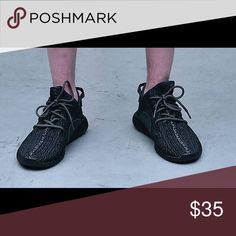 Yeezy boost 350 replica black on sale just 109 dollar with free