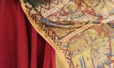 Buy Painted Verses by Kalam Creations Hand-Painted & Block-Printed Kalamkari Dupattas, Sarees & Blouses in Cotton, Silk Online at Jaypore.com