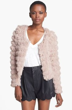 Love this fun, flirty jacket from @Nordstrom - Great for all the holiday parties!