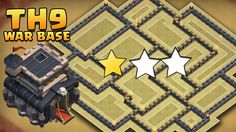 Clash of clans weekly base analysis part 8 hybrid town hall 9 wall