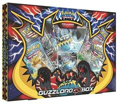 Pokemon Tcg Guzzlord Gx Box 4 Booster Pack A Foil Promo Card A Oversize Card Pokemon Trading Card, Pokemon Cards, Trading Cards, Pokemon Sets, Pokemon Charizard, Collectible Cards, Gears Of War, Pocket Cards, 20 Min