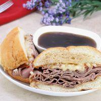 Copycat Arby's Roast Beef Sandwich - Note use 1 4-lb beef roast