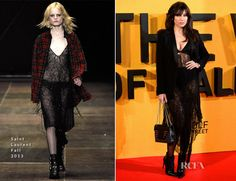 Daisy Lowe In Saint Laurent – 'The Wolf of Wall Street' London Premiere