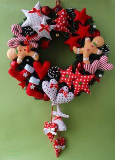 Christmas Makes, Christmas Holidays, Christmas Wreaths, Christmas Ornaments, Handmade Christmas Decorations, Xmas Decorations, Christmas Calendar, Christmas Sewing, Christmas Activities