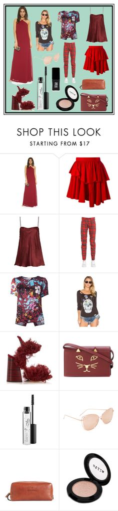 """""""Red Chilli..."""" by cate-jennifer ❤ liked on Polyvore featuring Joanna August, Philosophy di Lorenzo Serafini, E L L E R Y, G-Star Raw, Tome, Chaser, Charlotte Olympia, MAC Cosmetics, Linda Farrow and Brooks Brothers"""
