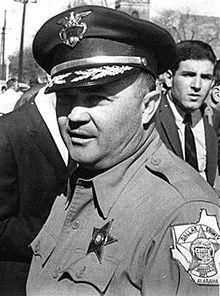 Jim Clark (sheriff) Former Selma, Alabama. Hall of Shame kind of a-hole. #RAT #Racist