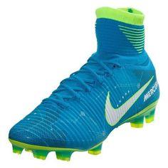 Nike Neymar Mercurial Superfly V NJR FG (Blue/Volt)