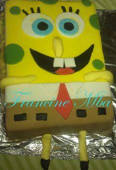 Bob l/'éponge et ses amis A4 Icing Cake Topper Personnalisé Anniversaire
