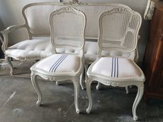Our french cane chairs
