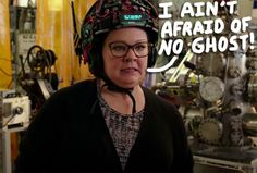 Even though Ghostbusters is a comedy at heart, it's still full of spooky specters — something Melissa McCarthy takes seriously!