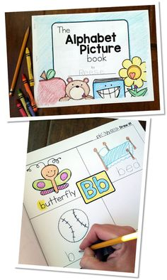 Students will love this Alphabet Picture Book.