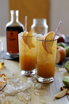 Apple Snap Cocktails (recipe) / by Joy the Baker