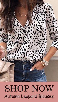 Blouse Women Long Sleeve Shirts Spring Summer 2019 Fashion V-Neck Blouse Shirt Casual Elegant Womens Tops and Blouses Look Fashion, Autumn Fashion, Womens Fashion, Fashion Trends, Fashion Tips, Fashion Websites, Cheap Fashion, Affordable Fashion, Spring Fashion